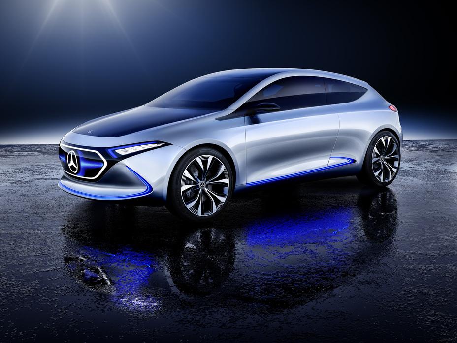 Mercedes-Benz Concept EQA showcar