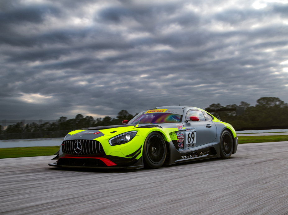 Mercedes AMG Motorsport Customer Racing Teams Ready For 2017 Season   Opening Pirelli World Challenge Race