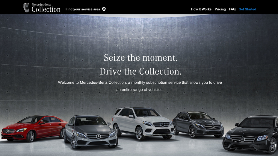 Mercedes Benz Launches Broadest Luxury Vehicle Subscription Plan In The U S With Collection