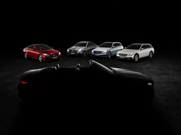 2017/2018 Mercedes-Benz E-Class Family