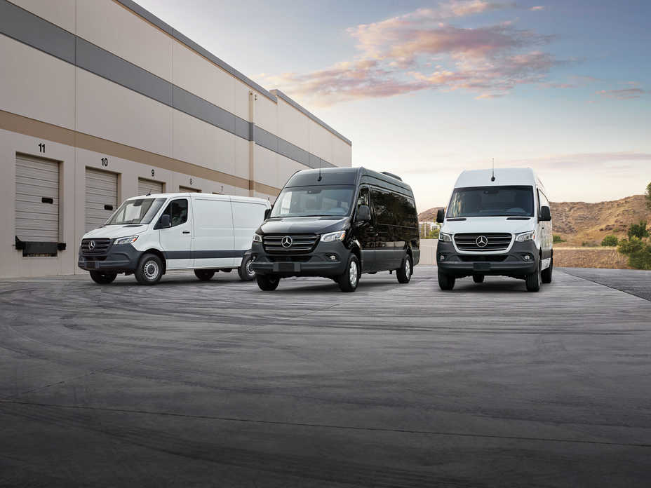 f29395853e Mercedes-Benz Vans Announces pricing on all-new 2019 Mercedes-Benz and  Freightliner Sprinter