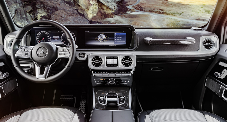 The New Mercedes Benz G Class