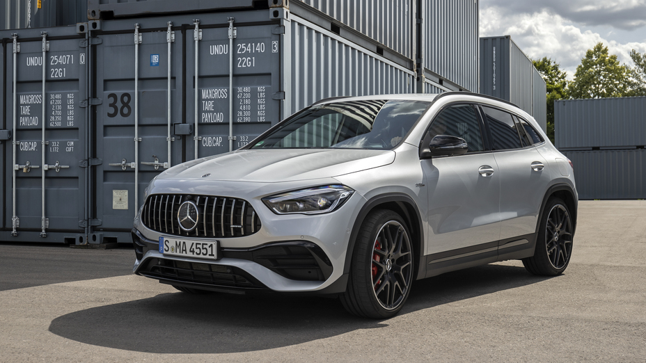 The 2021 Mercedes-Benz GLA