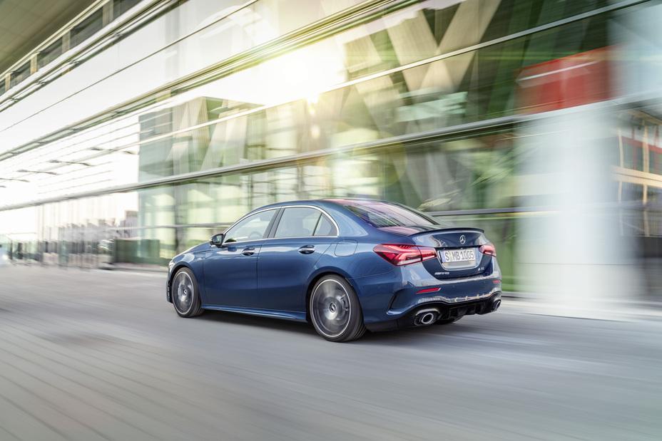 The new Mercedes-AMG A 35 Sedan