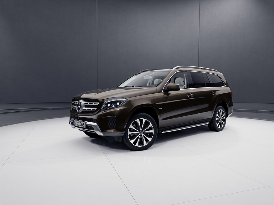 The Mercedes Benz Gls Grand Edition