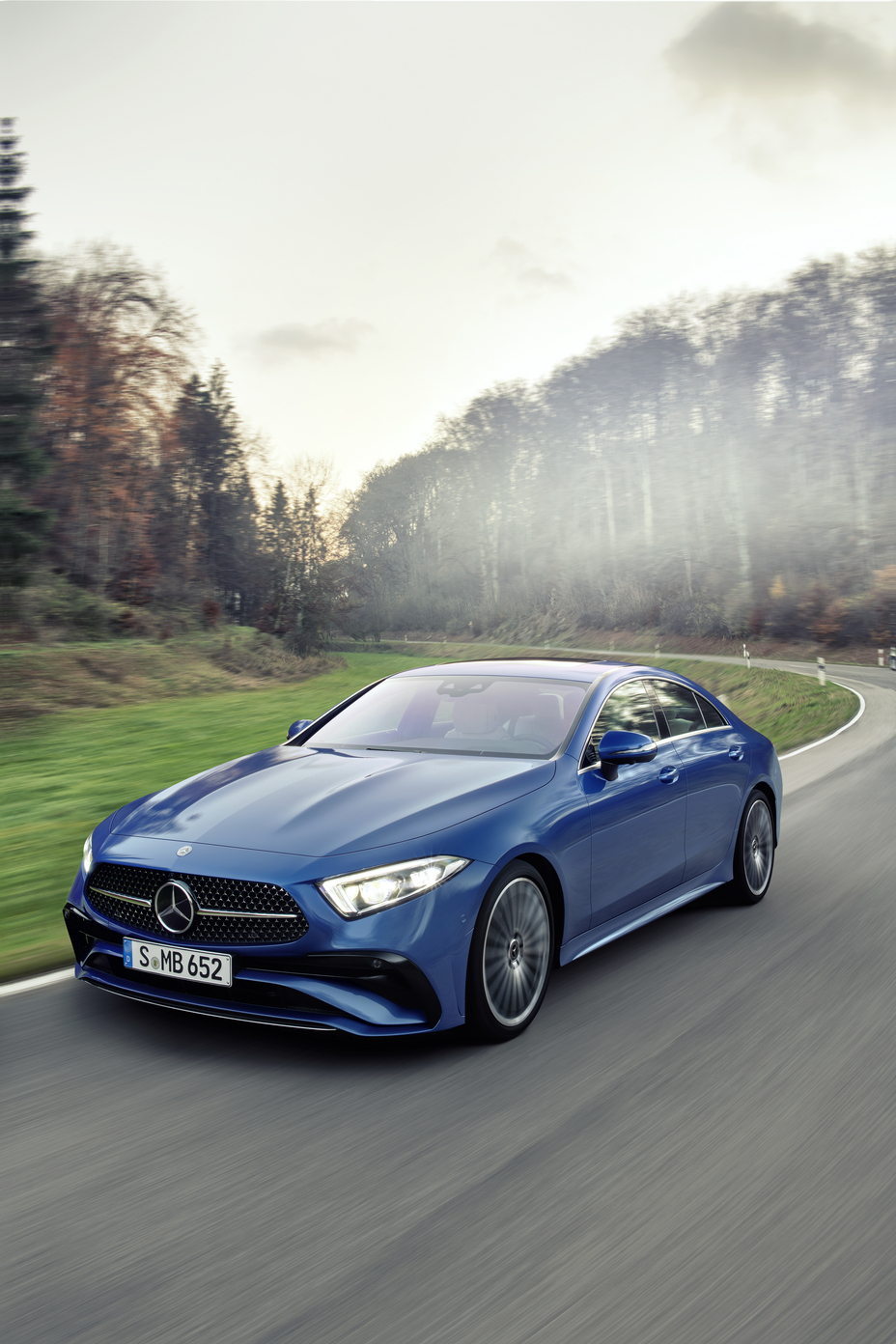 Mercedes Benz CLS Gets a Redesign